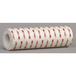 """3M 4950 Double Sided Vhb Tape 6"""" x 5 yd White 